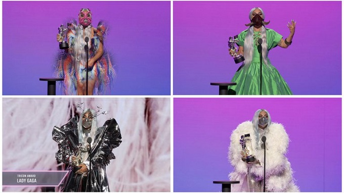Lady Gaga arrasó en la gala de los MTV Video Music Awards